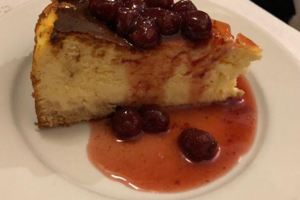 Tarta de Queso con Fresas Alfredos Barbacoa