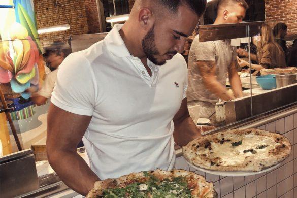 Pablo Cabezali en Pizzeria Nap Madrid