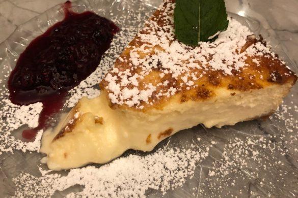 Tarta de Queso Restaurante Gigi