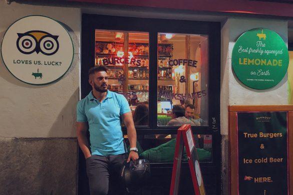 Pablo Cabezali en Burnout Burger