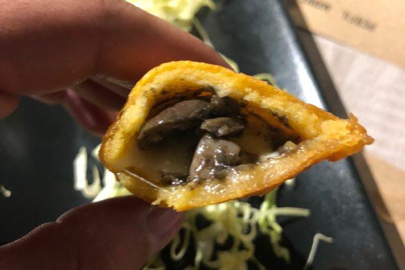 Quesadillas de Huitlacoche con Setas Mawey Taco Bar