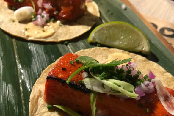 Tacos de Pez Mantequilla Mawey Taco Bar