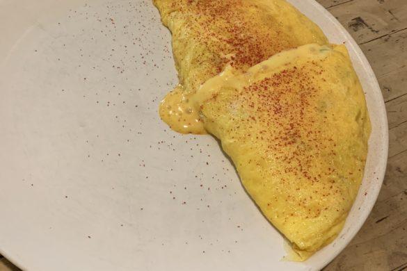 Tortilla con Gambas Fismuler