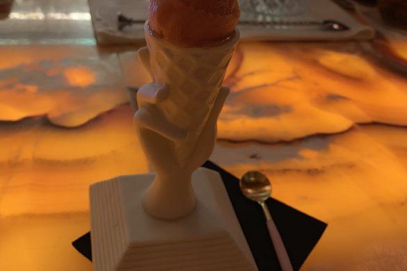 Helado de Bloody Mary Coque Madrid