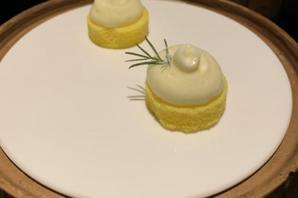 Nube Crujiente de Coctel Mimosa Coque Madrid