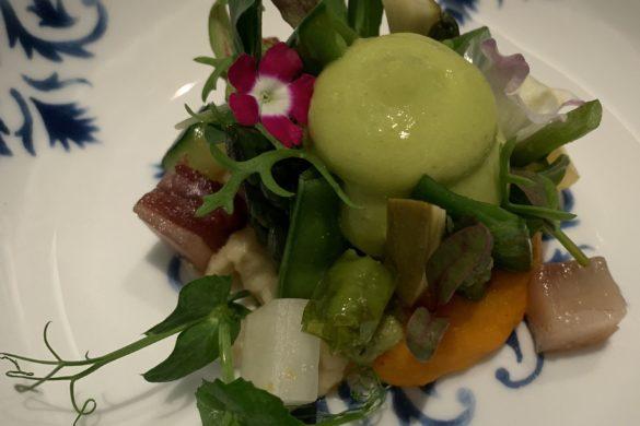 Gastrogenómica de Semillas Picantes con Kimchi de Verduras y Brotes Orgánicos Coque Madrid