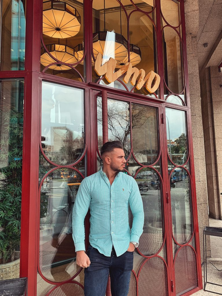 Pablo Cabezali en Umo Restaurante