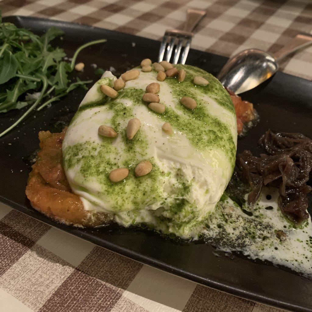 Burrata Fellina Madrid