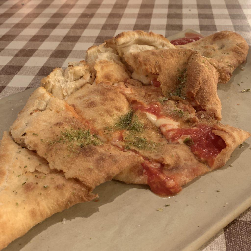 Pizza Frita Fellina Madrid