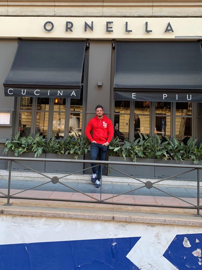 Pablo Cabezali en Restaurante Ornella