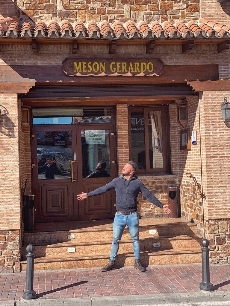 Pablo Cabezali en Mesón Gerardo