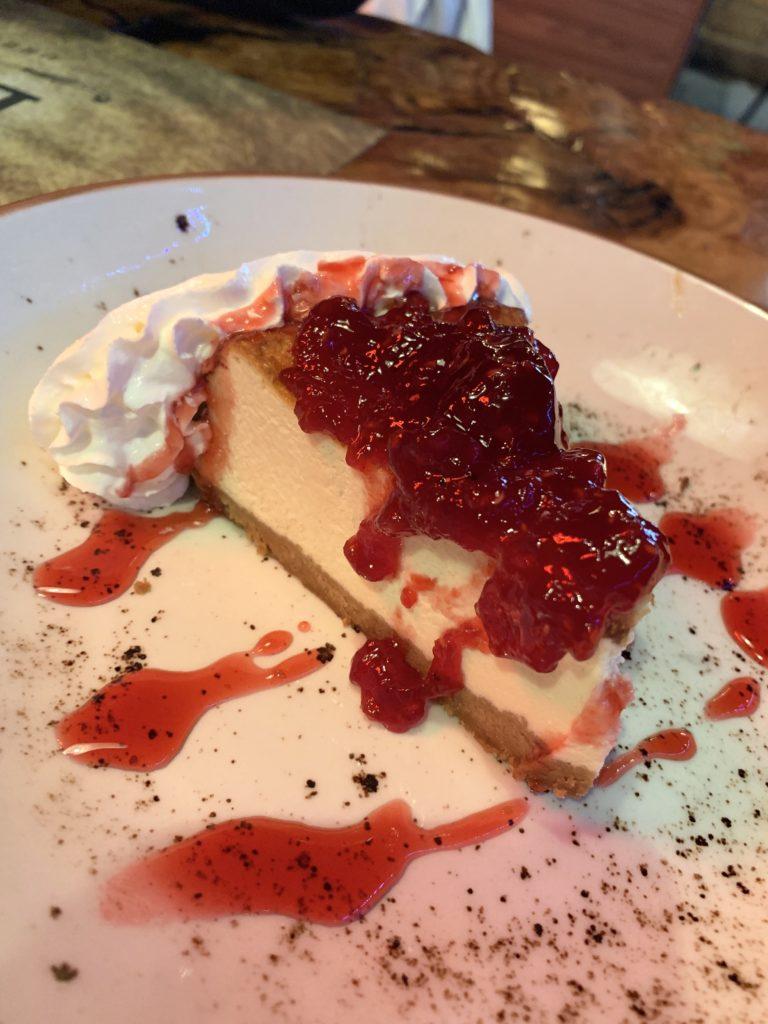 Cheesecake Black Label Urban Grill