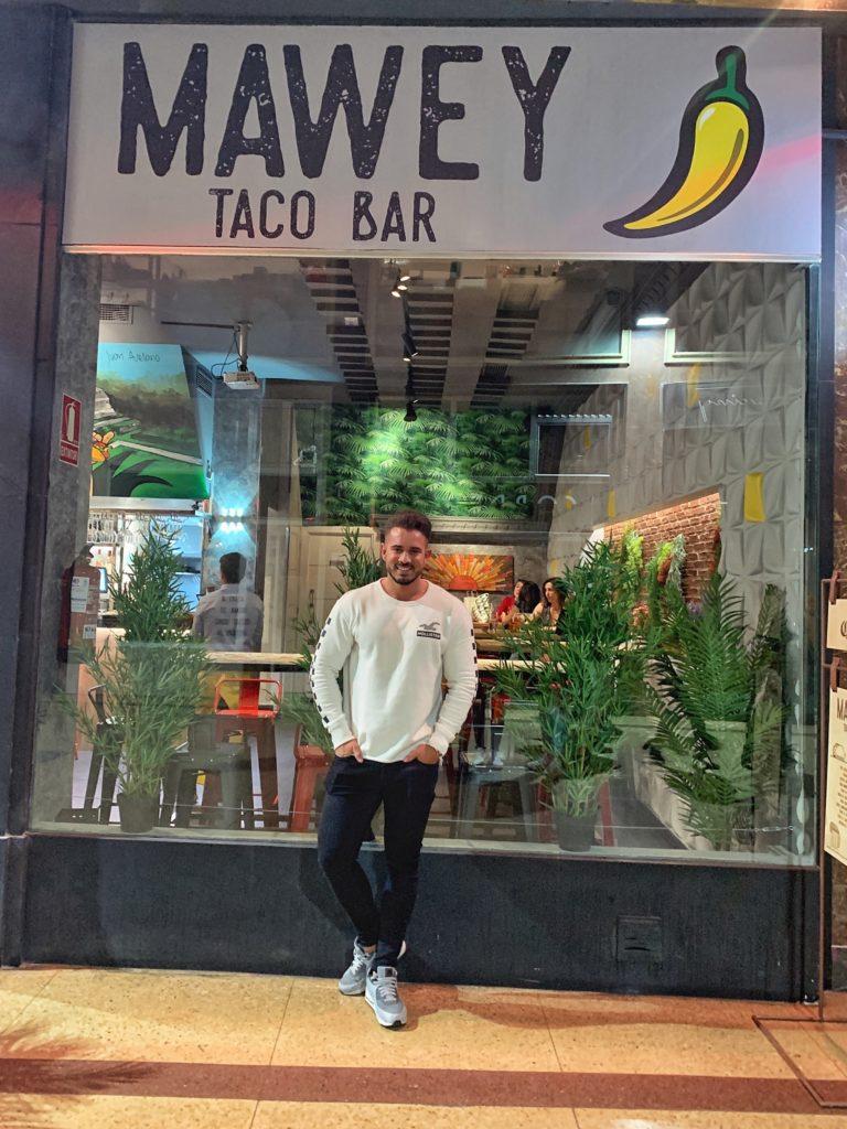 Pablo Cabezali en Mawey Taco Bar Gran Vía
