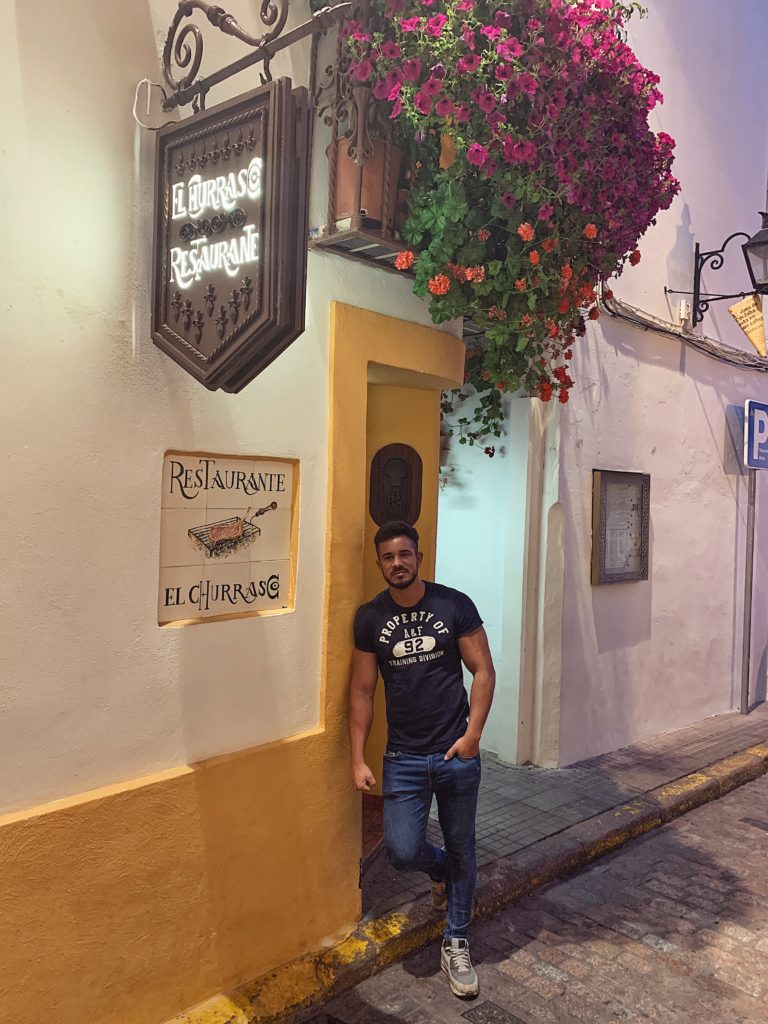 Pablo Cabezali en Restaurante El Churrasco Córdoba