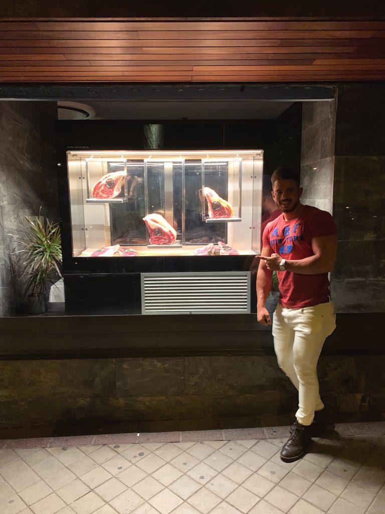 Pablo Cabezali en Restaurante Cabo Do Mundo