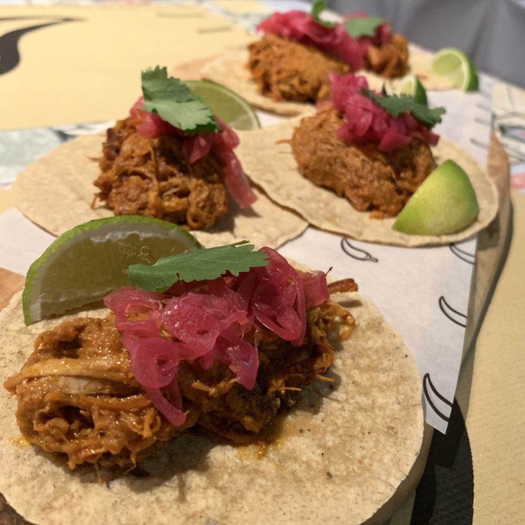 Tacos Cochinita Pibil Mawey Taco Bar Gran Vía