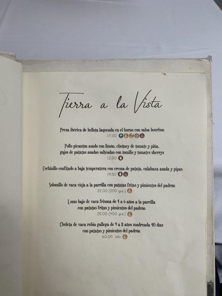 Carta Carnes Mariatrifulca Sevilla