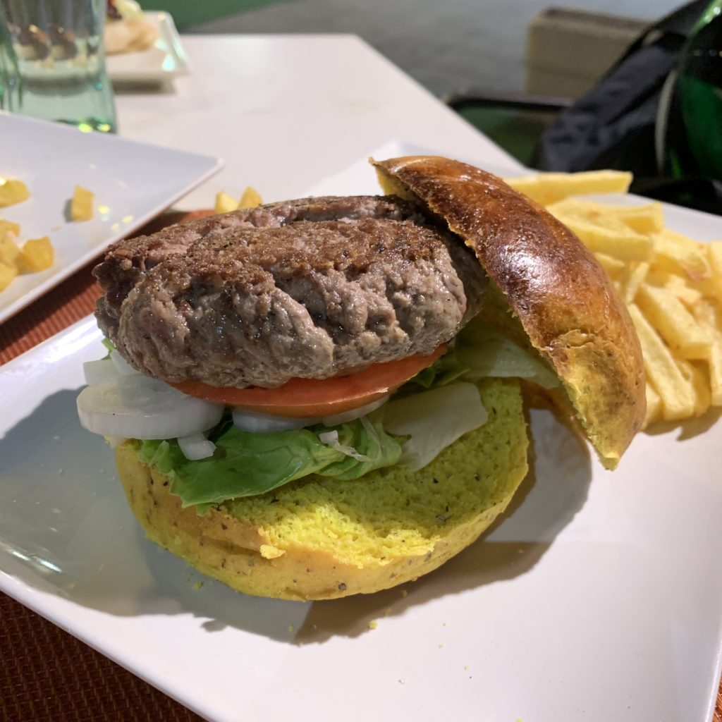 Hamburguesa Búfalo Restaurante Kaprika Pozuelo