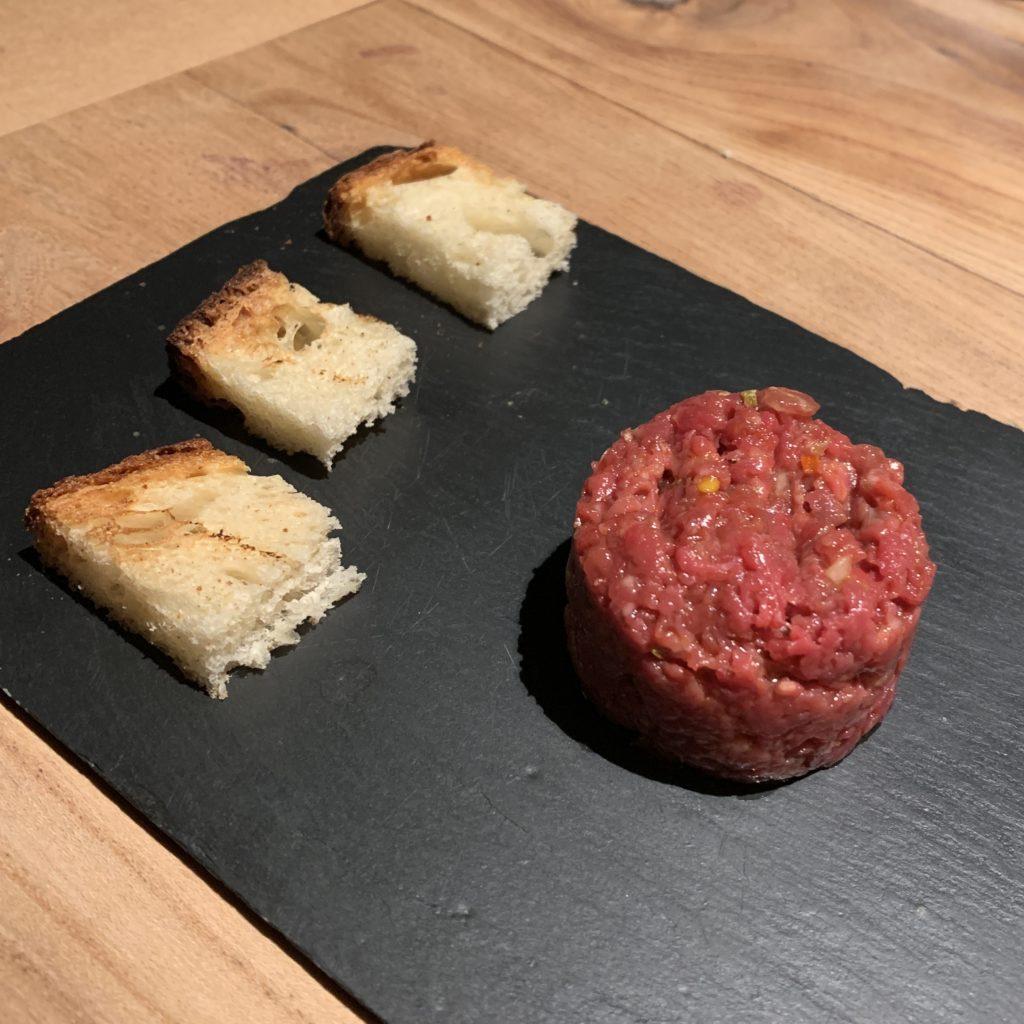 Steak Tartar Bodega El Capricho