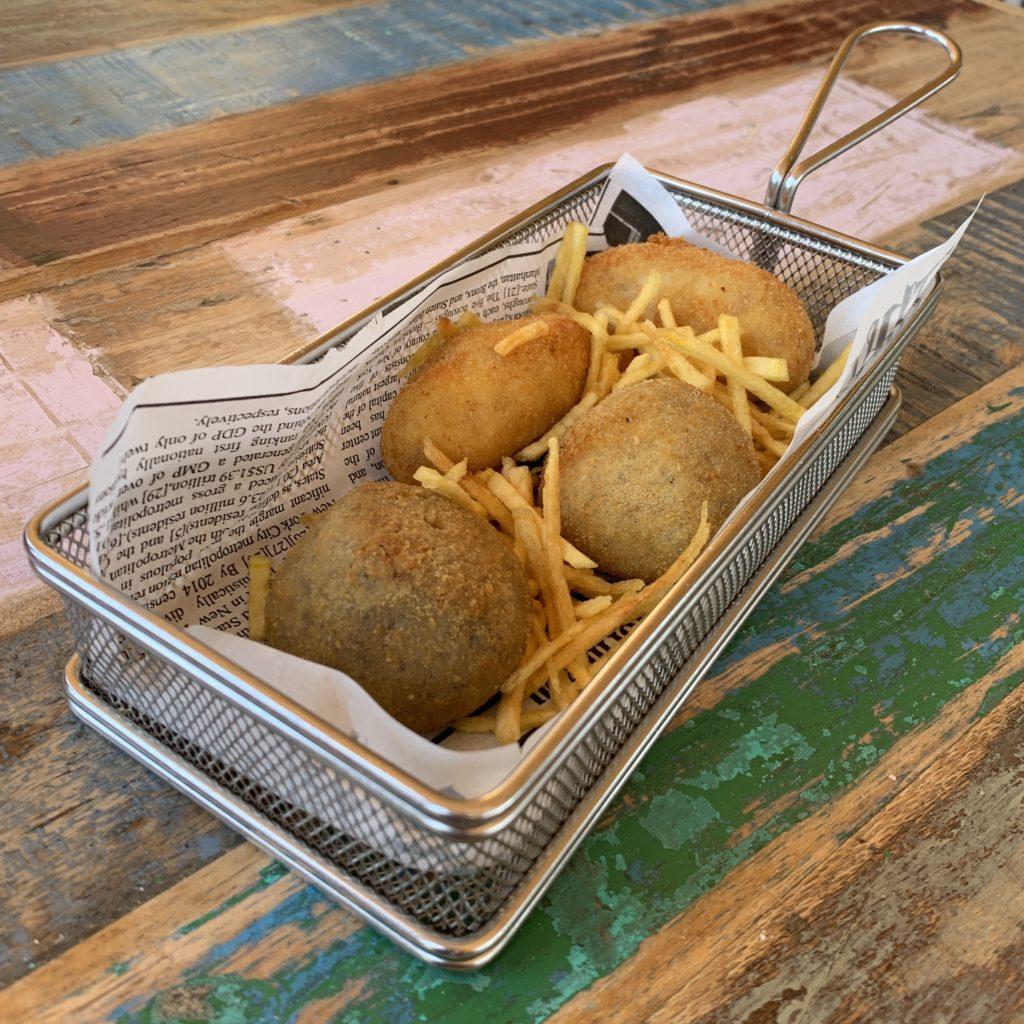 Croquetas Restaurante El Ochenta Majadahonda