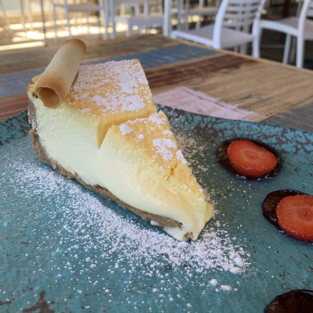 Tarta de Queso Restaurante El Ochenta Majadahonda