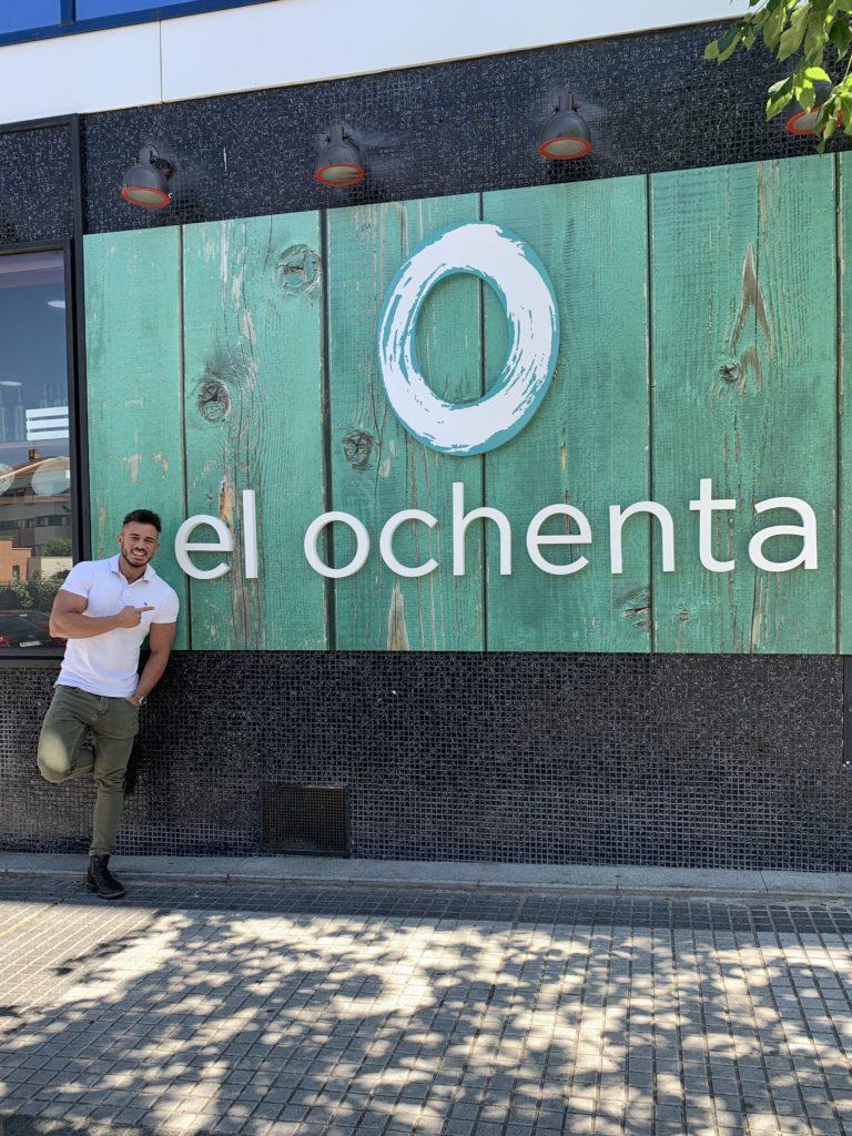 Pablo Cabezali en Restaurante El Ochenta Majadahonda