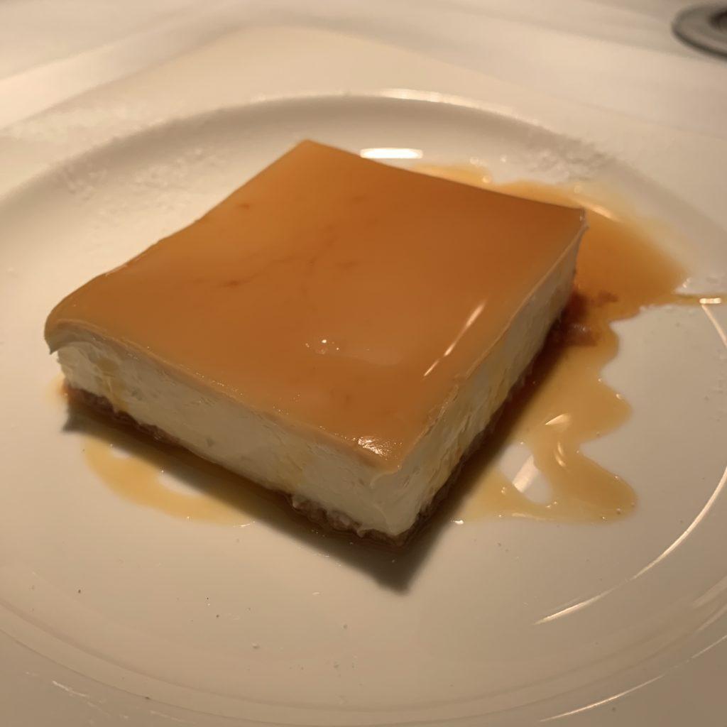 Tarta Queso y Cuajada Restaurante El Paraguas
