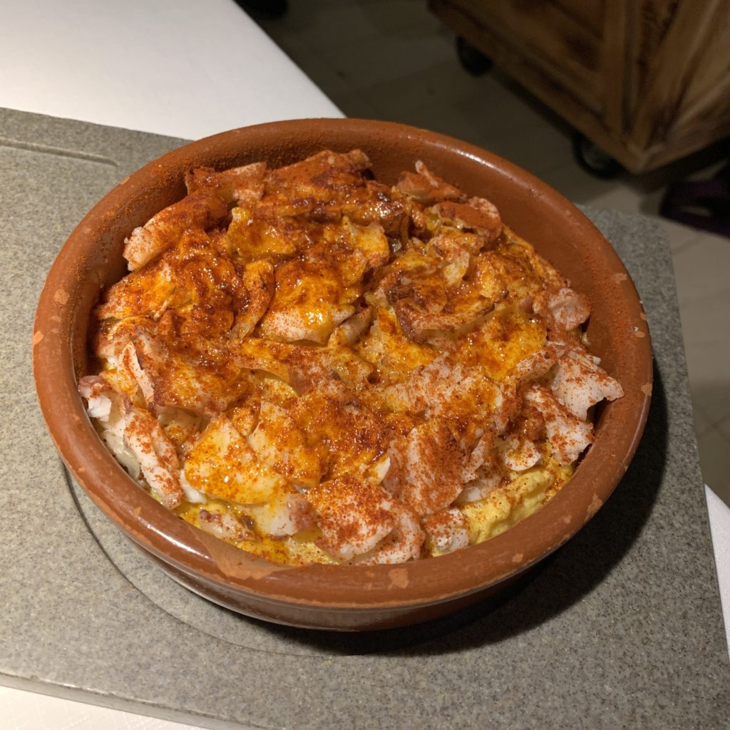 Tortilla Pulpo Las Tortillas de Gabino