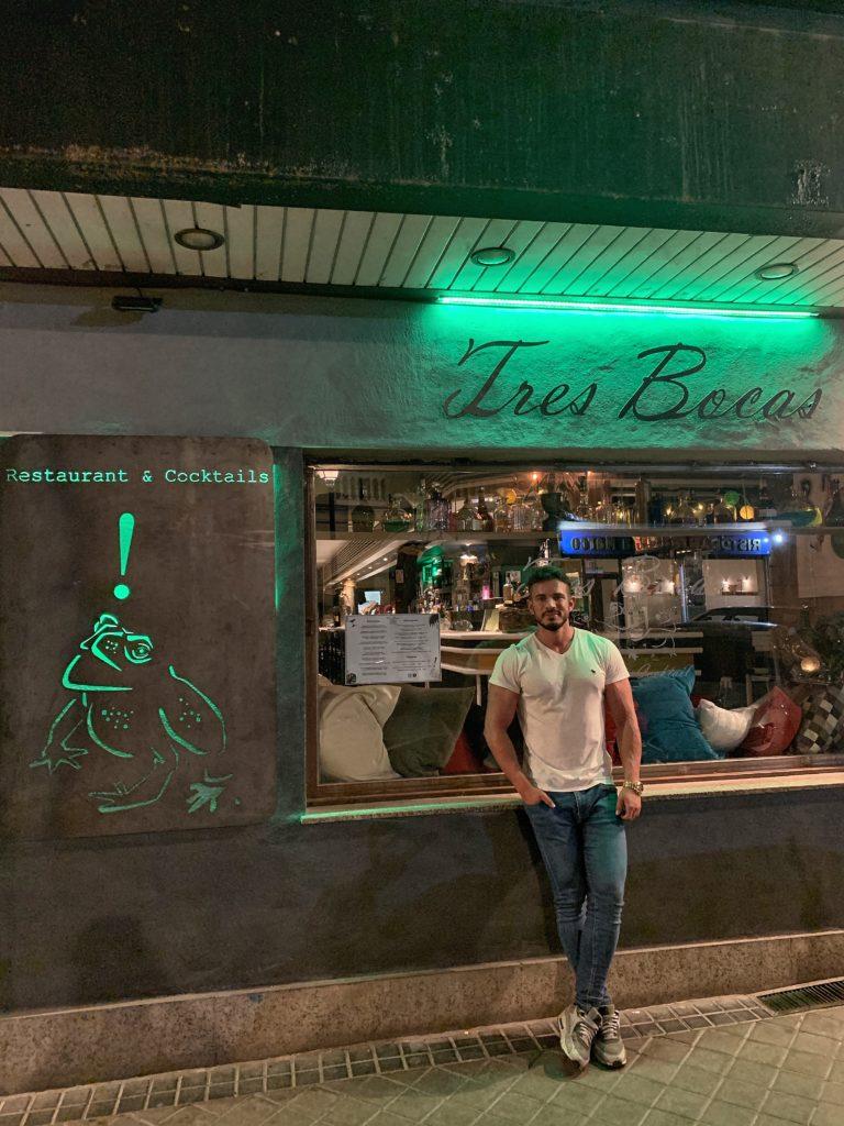 Pablo Cabezali en Restaurante Tres Bocas