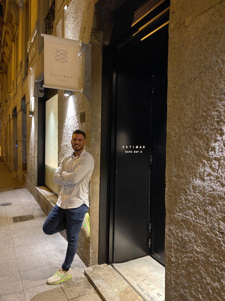 Cenando con Pablo en Restaurante Estimar Madrid