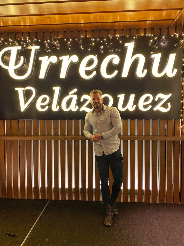 Cenando con Pablo en Restaurante Urrechu Velázquez