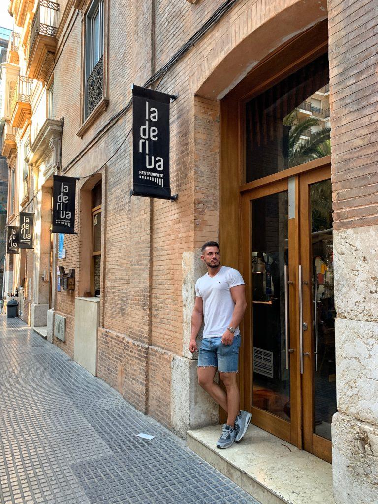 Cenando con Pablo en Restaurante La Deriva Málaga
